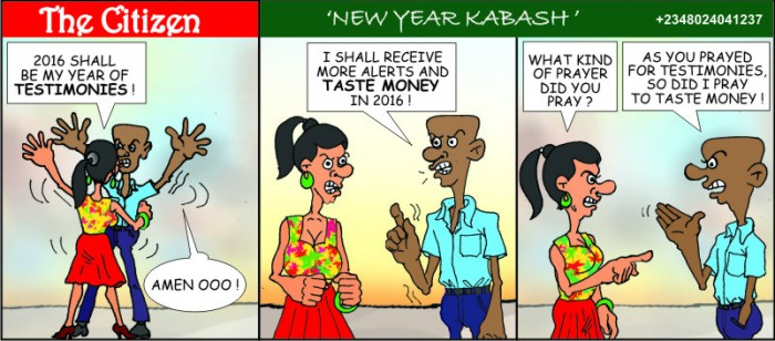 The CITIZEN new year kabash
