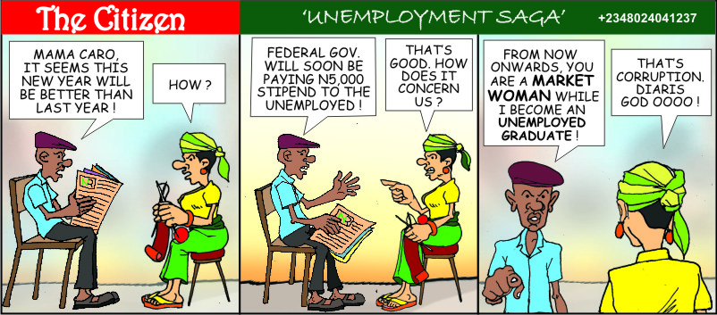 The CITIZEN unemployment saga F1