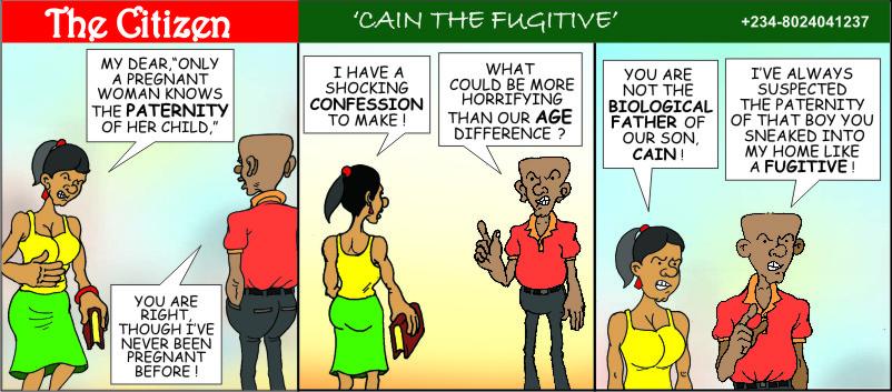 The CITIZEN Cain the Fugitive