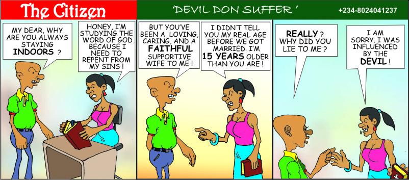 The CITIZEN devil don suffer