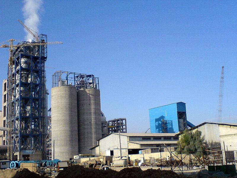 Haftkel_cement_plant