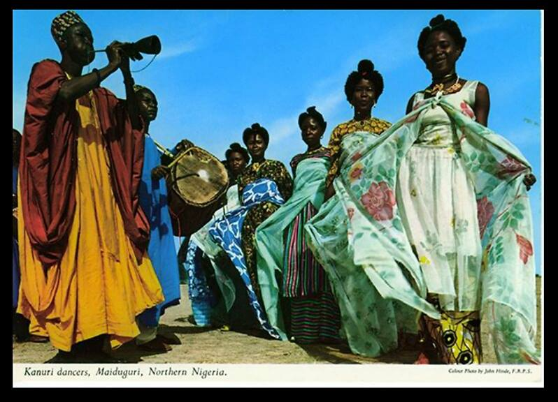 Kanuri Dancers, Maiduguri c1960s_John Hinde collection