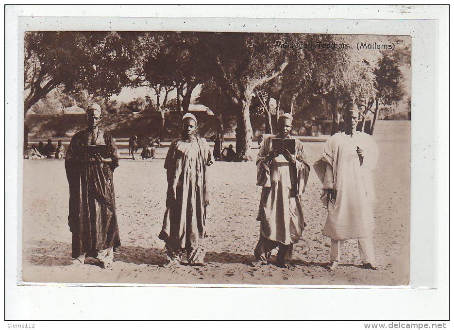 Koranic school teachers, Maiduguri 1910s.Publisher. Uknown