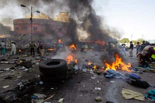 Maiduguri Monguno market explosion_AP