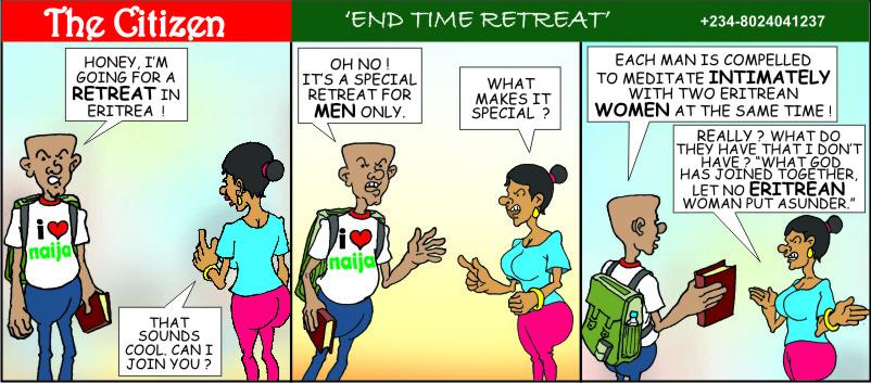 The CITIZEN end time retreat