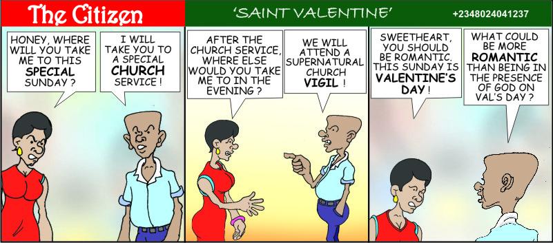 The CITIZEN saint valentine