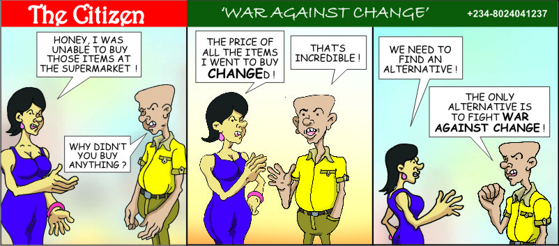 The CITIZEN war against change