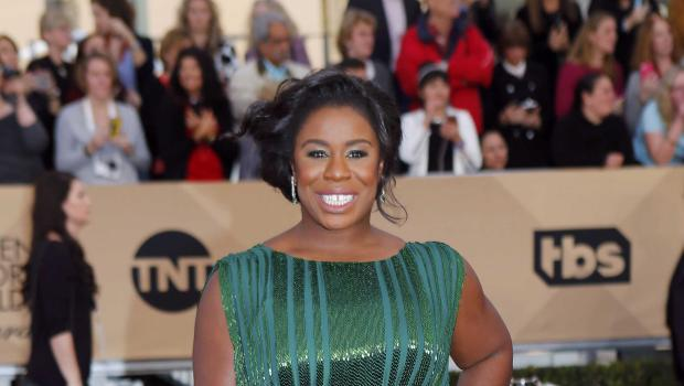 Actress Uzo Aduba arrives at the 22nd Screen Actors Guild Awards in Los Angeles, California January 30, 2016. REUTERS/Mike Blake