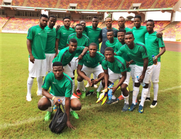 The home-based Super Eagles
