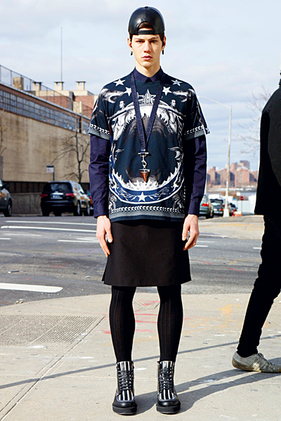 givenchy men - pre -fall - 2012