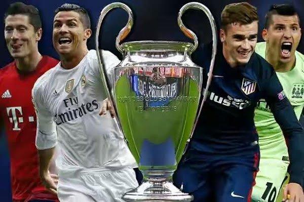 Champions League last four teams (Photo credit Uefa.com)