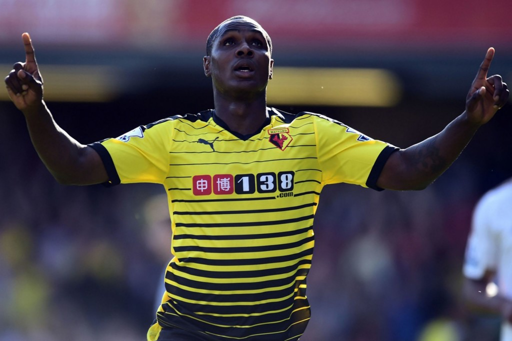 Ighalo in action