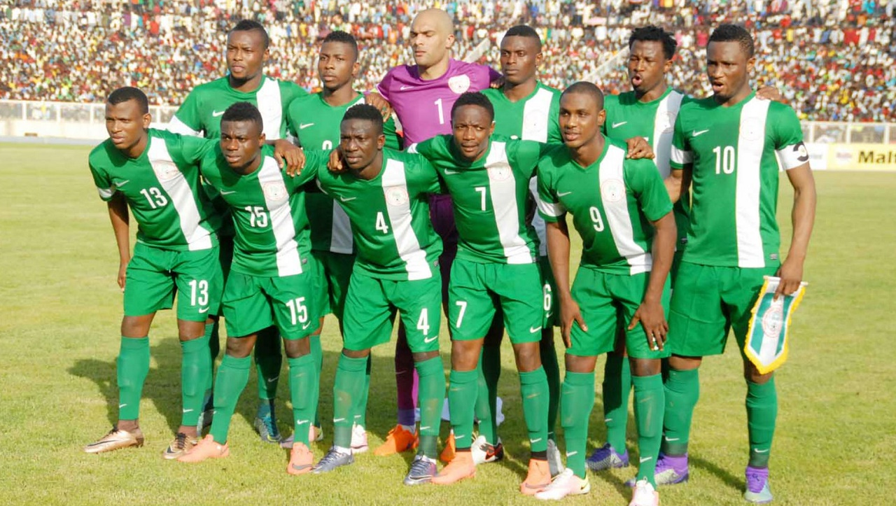 Super Eagles players (Photo credit Guardianngr)