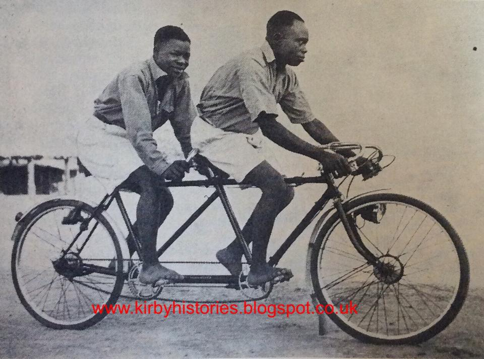 A Bicycle Taxi Service In Maiduguri.1939_Nigeria Magazine