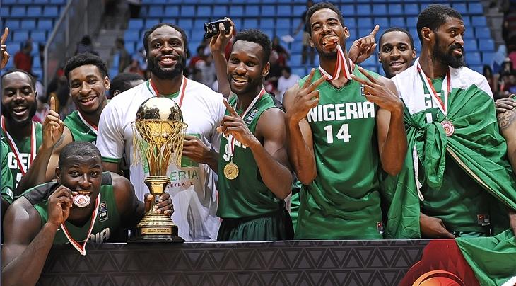 D'Tigers wins 2015 Afrobasketball