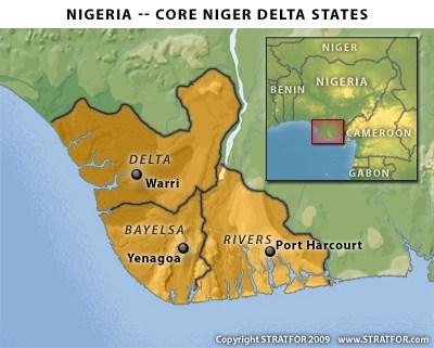 NIGER DELTA STATES