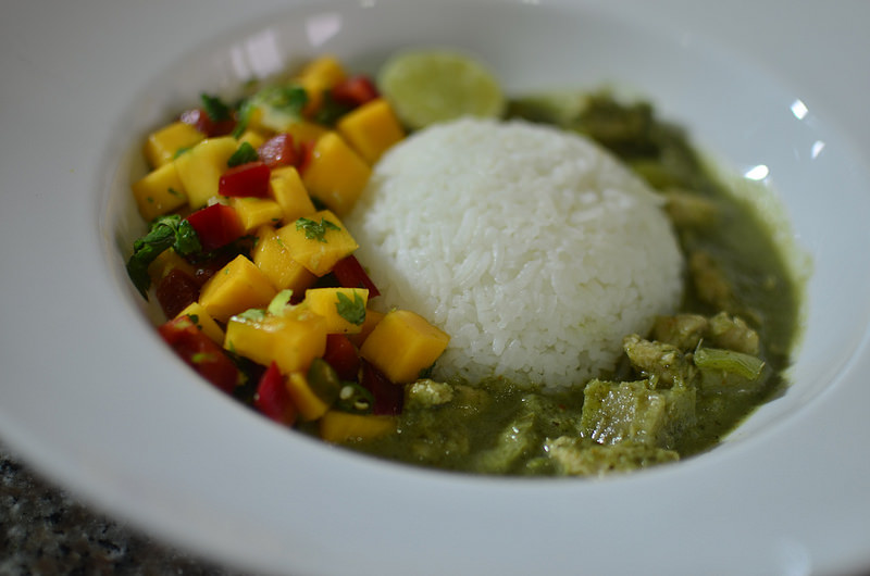 Nigerian Scent Leaf Curry Sauce