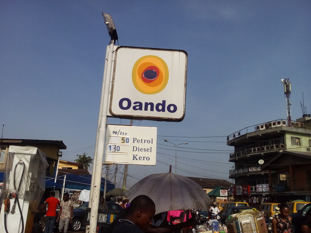 Oando at Lawanson, Lagos