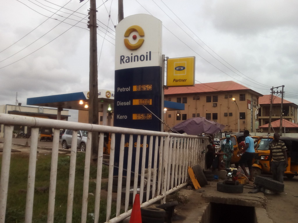 Rainoil at Okota, Lagos 1
