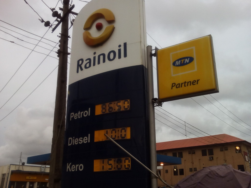 Rainoil at Okota, Lagos