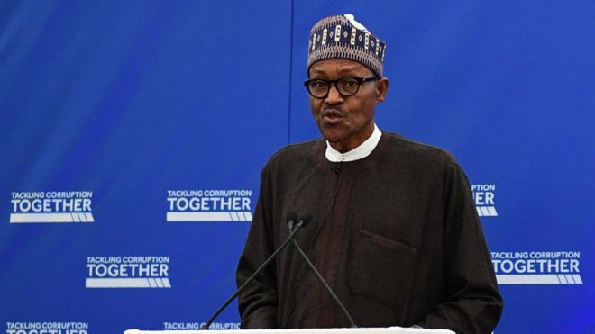 buhari anti-corruption summit London