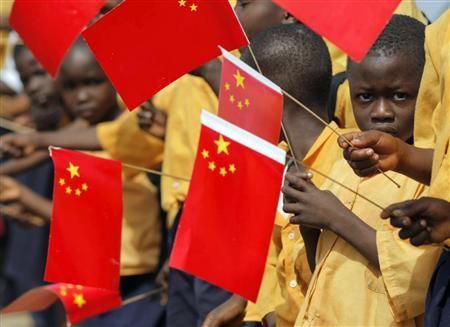 china and liberia