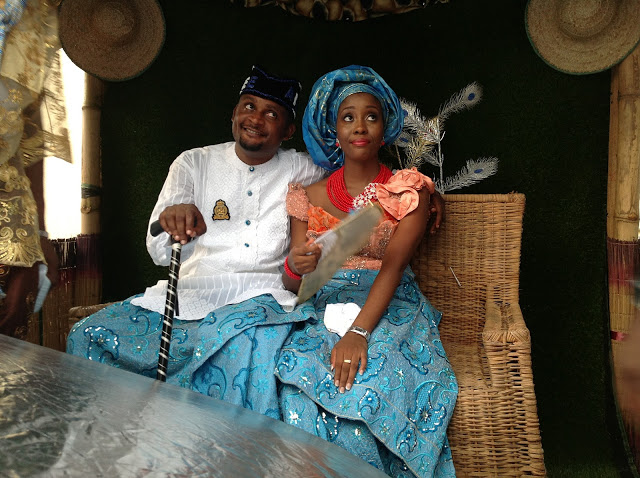 images from an Ibo wedding