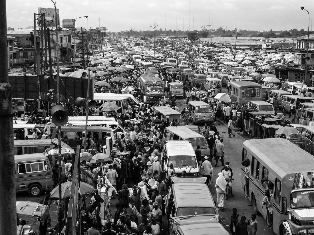 nigeria black and white