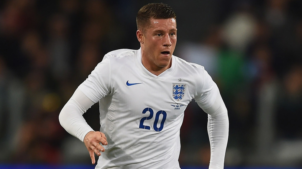 TURIN, ITALY - MARCH 31: Ross Barkley of England in action during the International Friendly match between Italy and England at Juventus Stadium on March 31, 2015 in Turin, Italy. (Photo by Laurence Griffiths/Getty Images)