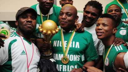 Stephen Keshi led Nigeria to AFCON title in 2013 (Getty Images )