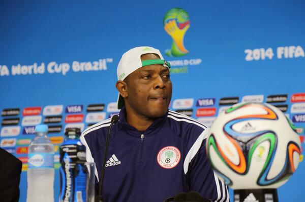 Stephen Keshi was denounced by Amaju Pinnick for Nigeria's uninspiring displays in Brazil