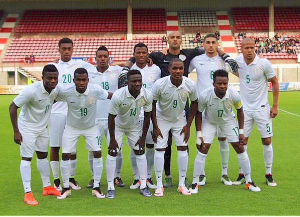Super Eagles line up against Mali