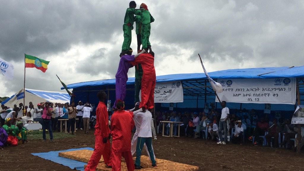 sudanese acrobats