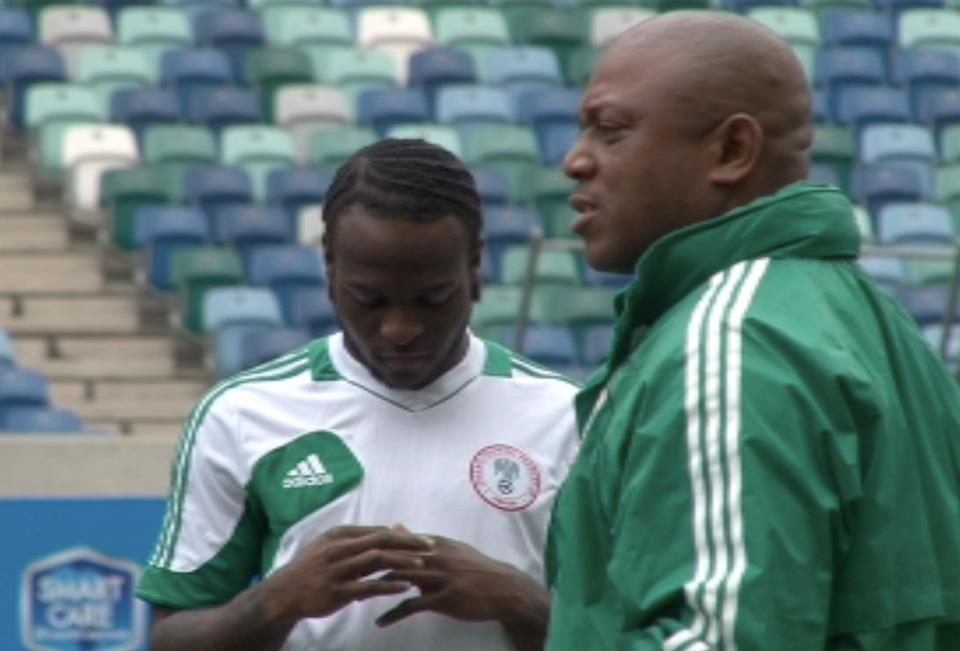 victor moses and stephen keshi