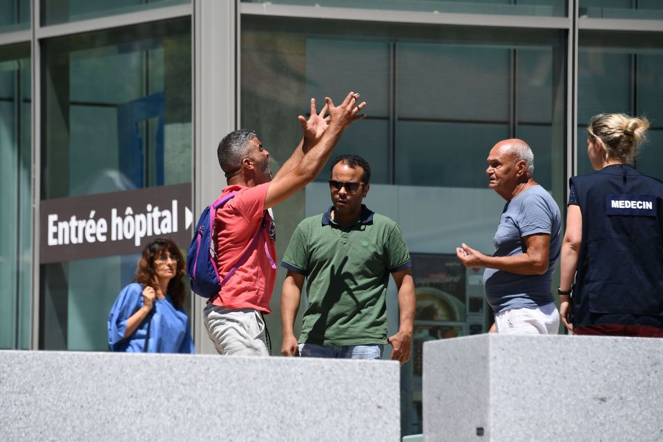 Tahar Mejri, who lost his wife during the deadly Nice attack that left 84 dead on Bastille day, yells in front of the Pasteur hospital in the French riviera town of Nice after he found out the loss of his son on July 16, 2016. The Islamic State group claimed responsibility for the truck attack that killed 84 people in Nice on France's national holiday, a news service affiliated with the jihadists said Saturday. Tunisian Mohamed Lahouaiej-Bouhlel, 31, smashed a 19-tonne truck into a packed crowd of people in the Riviera city celebrating Bastille Day -- France's national day. / AFP PHOTO / ANNE-CHRISTINE POUJOULATANNE-CHRISTINE POUJOULAT/AFP/Getty Images