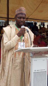 IMAN National president Dr Salisu Ismail making a remark at the international conference Abuja..photo IMAN