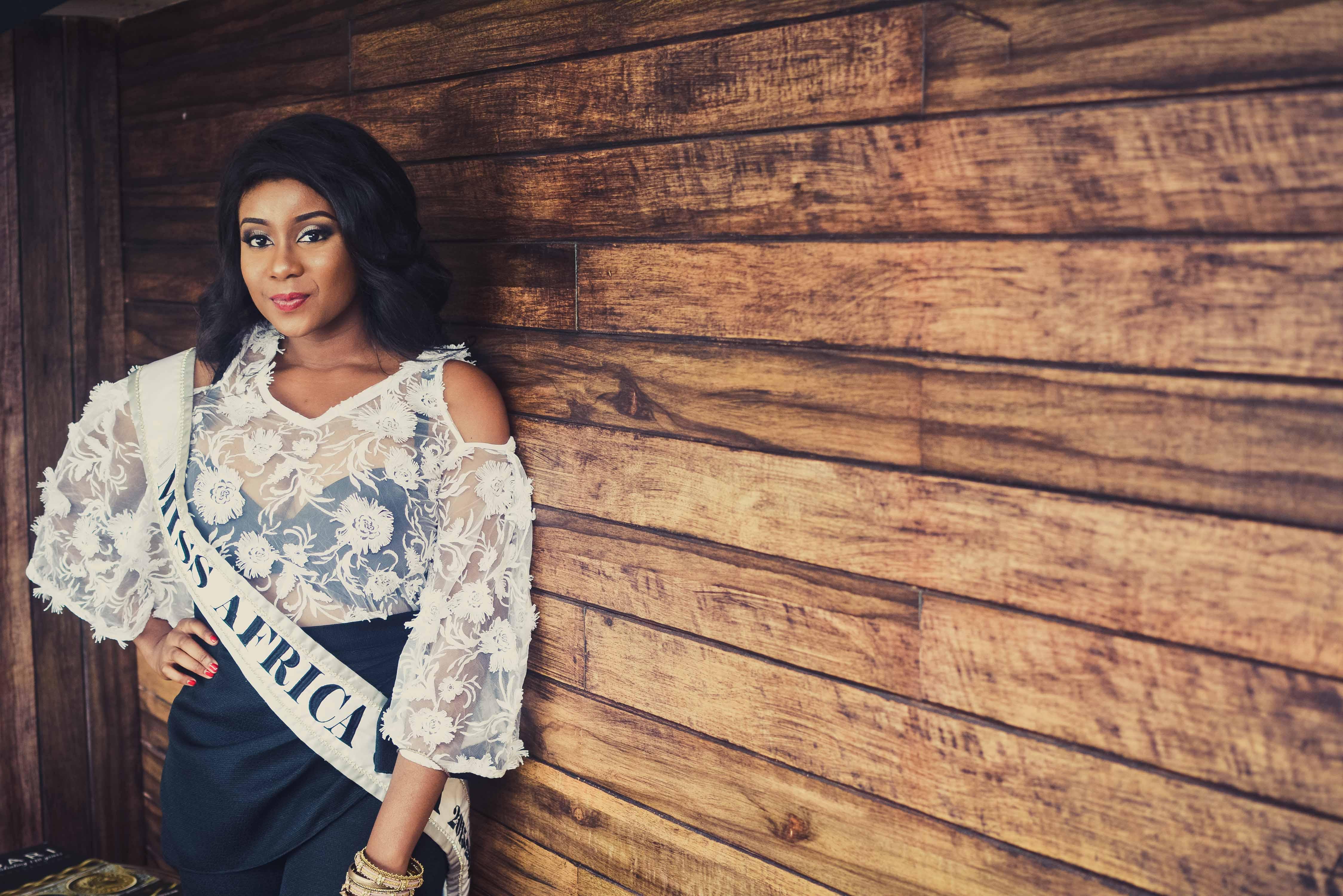 Miss Africa USA, Frances Udukwu in Alter Ego Lagos