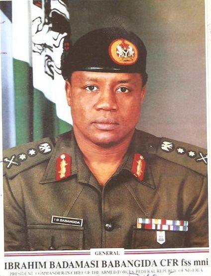 Gen. Ibrahim Babangida. Picture Source / nairaland.com