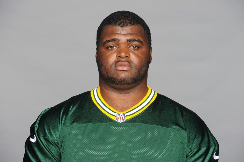 This is a 2014 photo of Busari Raji, Jr. of the Green Bay Packers NFL football team. This image reflects the Green Bay Packers active roster as of Monday, June 16, 2014 when this image was taken. (AP Photo)