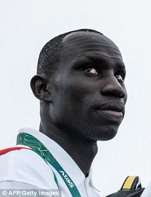 James Nyang Chiengjiek (left), South Sudan, athletics, 400m