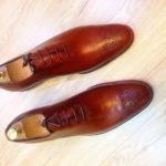Lace up brogues by TT DALK Shoes. Picture Source / ttdalk.ng