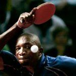 Nigerian table tennis star Segun Toriola at the 2016 Olympic Games in Rio de Janeiro, Brazil.