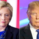 Hillary Clinton(L), Donald Trump (R). Picture Source / usmagazine.com