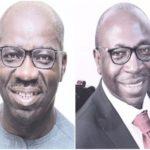 Godwin Obaseki (APC) and Osagie-Ize-Iyamu (PDP)