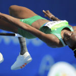 Nigerian high jump athlete Doreen Amata photo credit Olympic.org