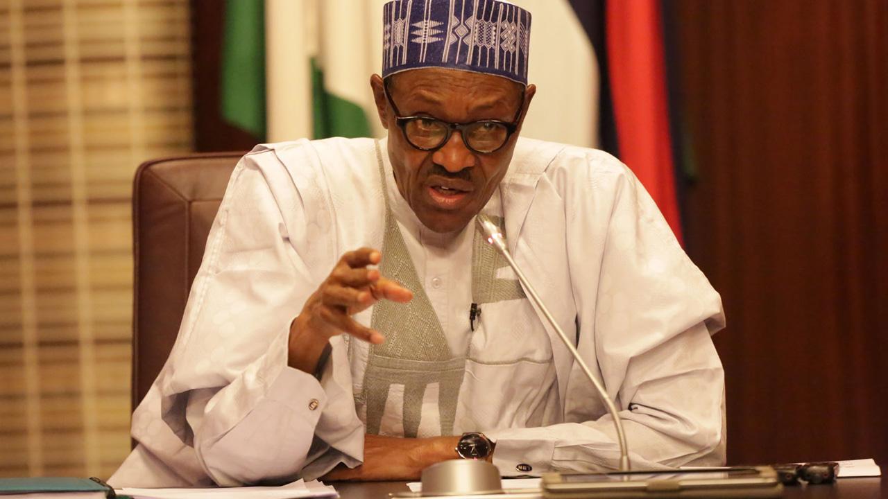 President Muhammadu Buhari...Photo/insert media Nigerian reporter