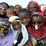 Kids having fun on eid day...Photo/ Thenewstribe.com