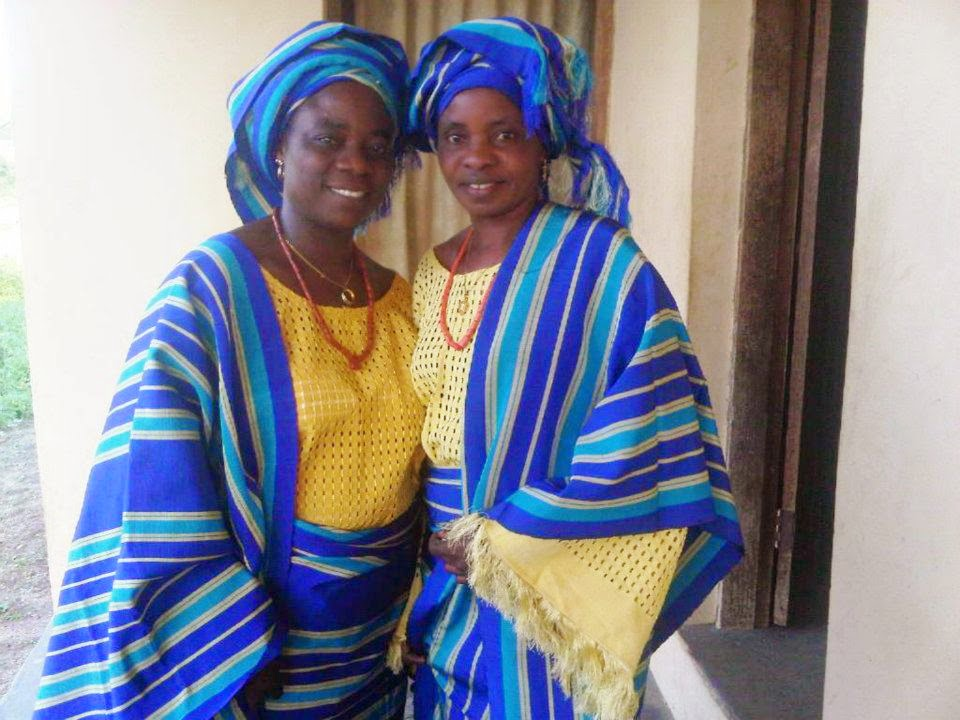 Ebira women in traditional atire....Photo/Ebiraview.WordPress